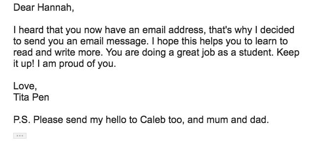 Hannah'e email