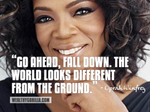 oprah on starting over