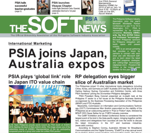 Writer and Editor for five years for the Bimonthly newsletter of an IT trade organisation